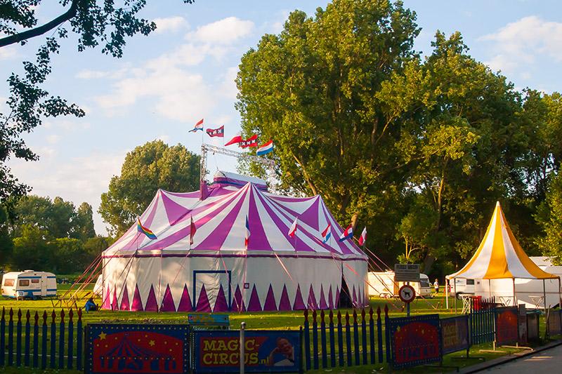 Magic Circus in Amsterdam - Erasmuspark